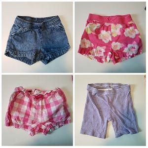 2T Girls Short Bundle